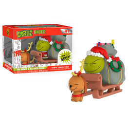 Figura Dorbz The Grinch Max & Sled