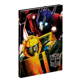 Carpeta A4 Transformers Power solapas