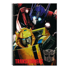 Cuaderno A4 Transformers Power 80h