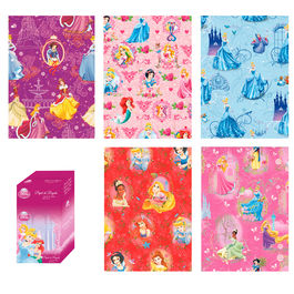 Disney Princess assorted gift wrap roll 70x200cm
