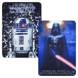 Star Wars assorted coral fleece blanket
