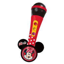 Disney Minnie microphone with melodies and light