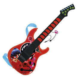 Miraculous Ladybug guitar and microphone