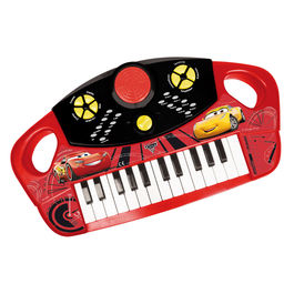 Disney Cars electronic keyboard with melodies 25 keys
