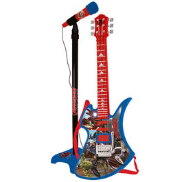 Marvel Avengers guitar and microphone