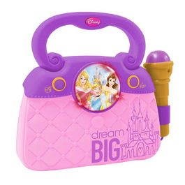 Disney Princess handbag with microphone with mp3 connection