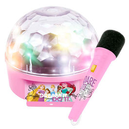 Disney Princess ampliefier with microphone and lights