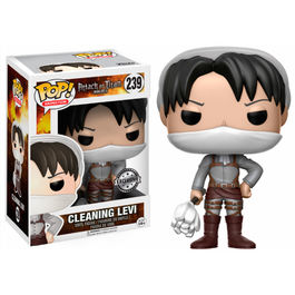 Figura POP! Vinyl Attack on Titan Cleaning Levi Limited