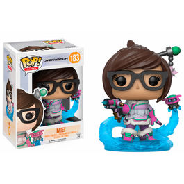 Figura POP! Vinyl Overwatch Mei Snowball Colour Limited