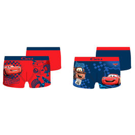 Pack 2 calzoncillos boxer Cars Disney