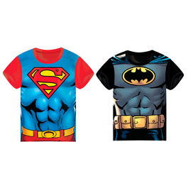 Camiseta Batman Superman DC Comics surtido