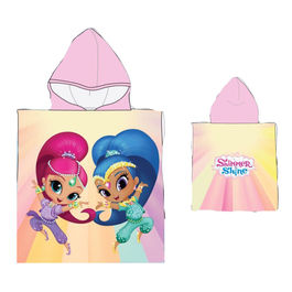 Shimmer and Shine poncho towel