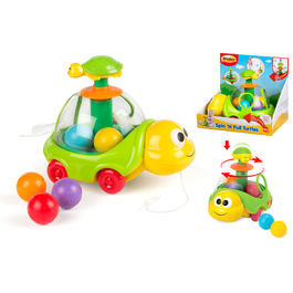 Spin and pull turtles