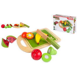 Wooden fruits game
