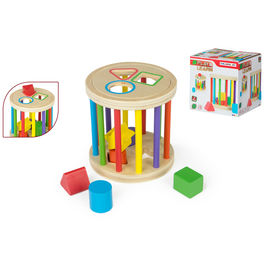 Wooden figures and shapes game