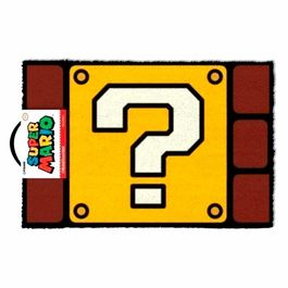 Felpudo Super Mario Nintendo Question Mark Block