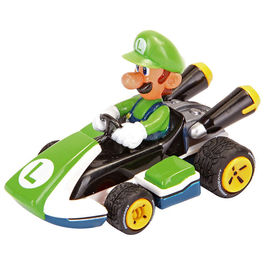 Nintendo Pull Speed Mario Kart 8 Luigi car box