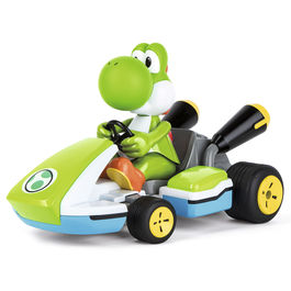 Nintendo Mario Kart Race Kart Yoshi Car with sound