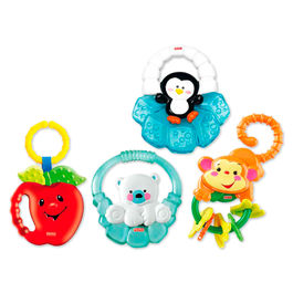 Assorted Rattle and teether
