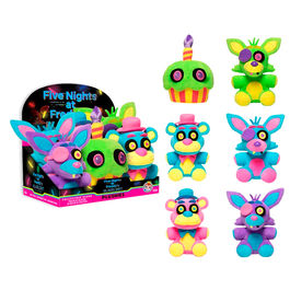 Peluche Five Nights at Freddy's Blacklight Neon soft 18cm surtido