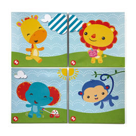 Canvas frame set of 4