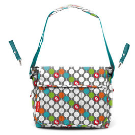 Dots diaper bag 36cm