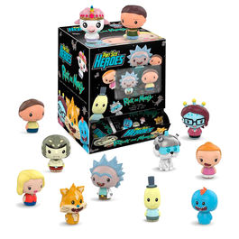 Figura Pint Size Rick & Morty Blindbags