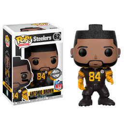 Figura POP NFL National Football LeagueAntonio Brown Color Rush Exclusive