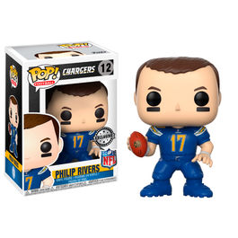 Figura POP NFL National Football LeaguePhilip Rivers Color Rush Exclusive