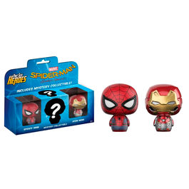 Pack 3 figuras Pint Size Marvel Spiderman Homecoming