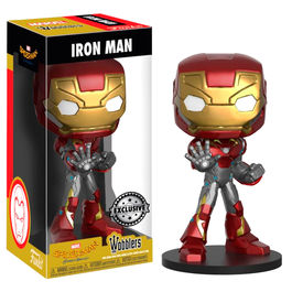 Figura Wobbler Marvel Spiderman Homecoming Iron Man Exclusive