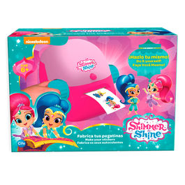 Shimmer and Shine make your stickers