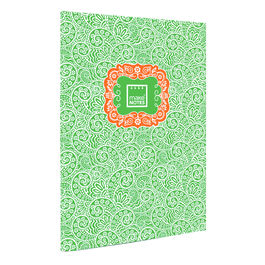 Cuaderno A4 Paisley One verde