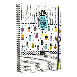 Cuaderno A4 Sweet Pineapple anillas