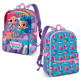 Shimmer and Shine reversible backpack 40cm