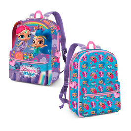 Shimmer and Shine reversible backpack 31cm