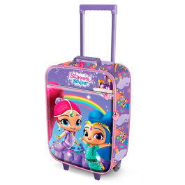 Shimmer and Shine trolley suitcase 2 wheels 46cm