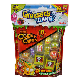 Set 10 figuras Corny Chips The Grossery Gang