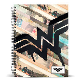 Cuaderno A4 Wonder Woman DC Comics Collage