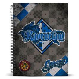 Cuaderno A5 Harry Potter Quidditch Ravenclaw