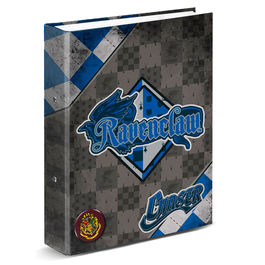 Carpeta A4 Harry Potter Quidditch Ravenclaw anillas