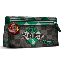 Harry Potter Quidditch Slytherin pencil case