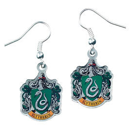 Pendientes Slytherin Crest Harry Potter