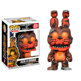 Figura POP! Five Nights at Freddys Jack-O-Bonnie Glow in the Dark Exclusive