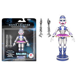 Figura Action Five Nights at Freddy's Funtime Ballora Exclusive