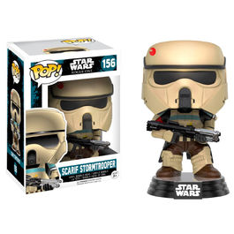 Figura POP! Star Wars Rogue One Scarif Stormtrooper Stripes Exclusive