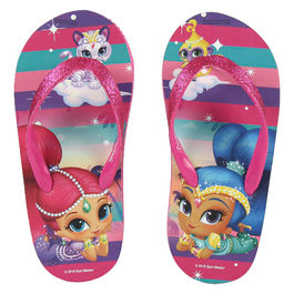 Chanclas Shimmer y Shine full print