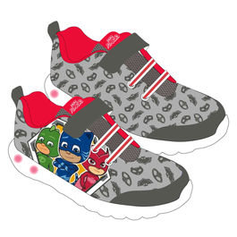 PJ Masks gray sport shoes with ligths