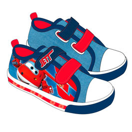 Zapatillas lona Super Wings con luz