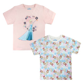 Pack 2 camisetas Frozen Disney